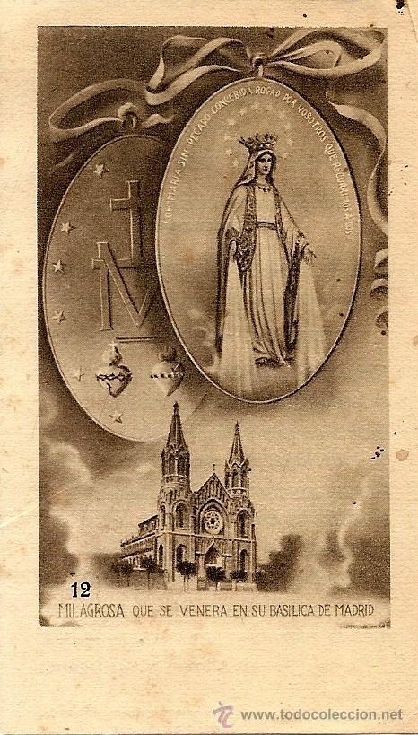 ORIHUELA (ALICANTE) - RECORDATORIO EJERCICIOS ESPIRITUALES CANÓNIGO SALVADOR IVARS EN 1952 (Postales - Postales Temáticas - Religiosas y Recordatorios)