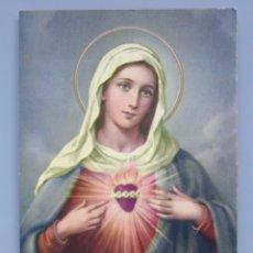 Postales: POSTAL RELIGIOSA SEMANA SANTA. AÑO 1970. SAGRADO CORAZÓN DE MARÍA. 489. Lote 51050996