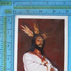 Postales: RECORDATORIO RELIGIOSO SEMANA SANTA. COFRADÍA DE NUESTRO PADRE JESÚS CAUTIVO, MÁLAGA. Lote 51061775