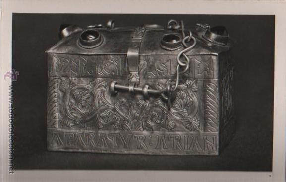 Postales: BLOCK POSTALES DE CUSTODIAS CAPILLA COPON - RELIQUIA - EXPO, NACN. DE ARTE EUCARISTICO ANTIGUO 1952 - Foto 6 - 51251941