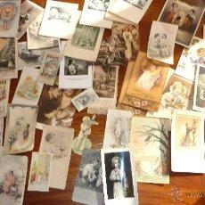 Postales: LOTE MAS DE 40 ANTIGUAS ESTAMPA RECORDATORIO NIÑO JESUS . DISTINTOS AÑOS . VER FOTOS. Lote 51343031