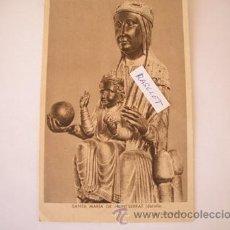 Postales: MAGNIFICA POSTAL ANTIGUA DE SANTA MARIA DE MONTSERRAT DE LOS AÑOS 40 -. Lote 51389849