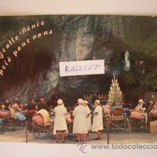Postales: MAGNIFICA Y ANTIGUA POSTAL DE - L O U R D E S - DE LOS AÑOS -60 -. Lote 51391511