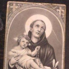 Postales: ESTAMPA RELIGIOSA SAN ANTONIO. Lote 51424147