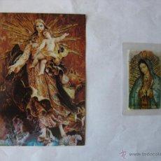 Postales: POSTAL VÍRGENES DE MÉXICO. IMAGEN DE LA INMACULADA CONCEPCIÓN DE MARÍA Y VIRGEN DE GUADALUPE.. Lote 51427589