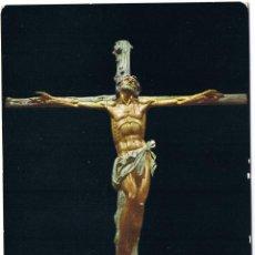 Postales: SANTA CRUZ DEL VALLE DE LOS CAIDOS - CRISTO DEL ALTAR MAYOR. Lote 165152249