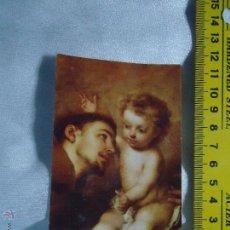 Postales: ESTAMPA RELIGIOSA - SAN ANTONIO. Lote 51748046