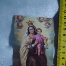 Postales: ESTAMPA RELIGIOSA - VIRGEN DEL CARMEN. Lote 51748222