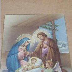 Postales: POSTAL NACIMIENTO DE JESUS - BELEN. Lote 51934681
