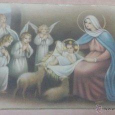 Postales: POSTAL NACIMIENTO DE JESUS - BELEN. Lote 51934693