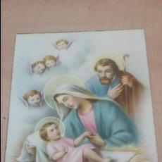 Postales: POSTAL NACIMIENTO DE JESUS - BELEN. Lote 51934708