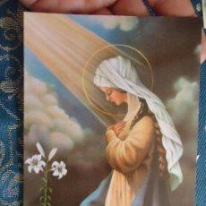 Postales: POSTAL RELIGIOSA O SEMANA SANTA - VIRGEN. Lote 52288735