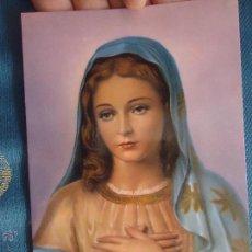 Postales: POSTAL RELIGIOSA O SEMANA SANTA - VIRGEN . Lote 52289578