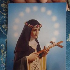 Postales: POSTAL RELIGIOSA O SEMANA SANTA - SANTA ROSA. Lote 52289782