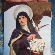 Postales: POSTAL RELIGIOSA O SEMANA SANTA - SANTA TERESA. Lote 52289849