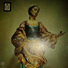 Postales: POSTAL VIRGEN MURCIA - LA VERONICA MUSEO DE SALZILLO - SIN CIRCULAR ESCUDO DE ORO BUEN ESTADO. Lote 52327569