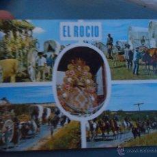 Postales: POSTAL RELIGIOSA O SEMANA SANTA - ALMONTE HUELVA VIRGEN DEL ROCIO. Lote 52397572