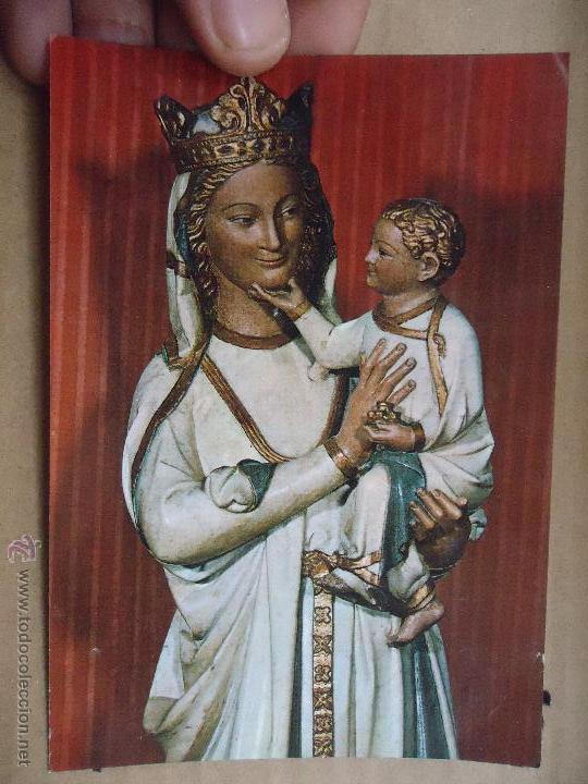 POSTAL RELIGIOSA - SEMANA SANTA - VIRGEN (Postales - Postales Temáticas - Religiosas y Recordatorios)