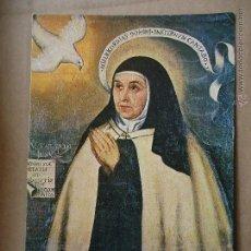 Postales: POSTAL RELIGIOSA - SEMANA SANTA - SANTA TERESA DE JESUS. Lote 52513433