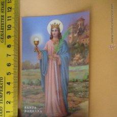 Postales: HLN - POSTAL RELIGIOSA SANTO O SANTA - SANTA BÁRBARA. Lote 52523559