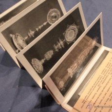 Postales: EXPOSICIÓN NACIONAL DE ARTE EUCARÍSTICO ANTIGUO.ABRIL-MAYO 1952. 10 POSTALES -DOCJ-. Lote 52545778
