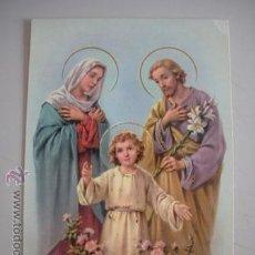 Postales: MAGNIFICA POSTAL RELIGIOSA DE LOS AÑOS 60 - CIRCULADA - . Lote 52727333