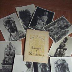 Postales: CARPETA DEL MONASTERIO DE MONTSERRAT CON 9 POSTALES DE LA IMAGEN DE NTRA. SRA. DE MONTSERRAT. Lote 52853390