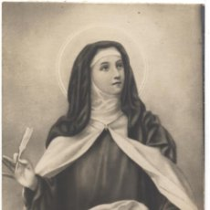 Postales: TARJETA POSTAL SANTA TERESA DE JESUS. Lote 53005051