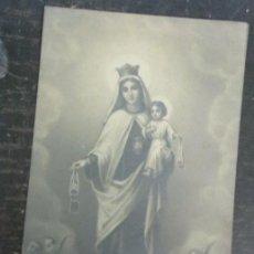 Postales: ESTAMPA RELIGIOSA VIRGEN DEL CARMEN. Lote 53138849