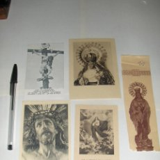 Postales: 5 ESTAMPAS RELIGIOSAS.. Lote 53261741