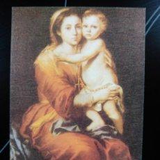 Postales: ESTAMPA VIRGEN Y NIÑO. EDIPOR, MADRID 1994. Lote 53338096