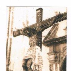 Postales: ESTAMPA RELIGIOSA CRISTO DE CONFALÓN ÉCIJA RECUERDO IV PREGÓN DE LAS SIETE PALABRAS 2014. Lote 53338902
