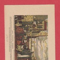 Postales: ESTAMPA RELIGIOSA S. VICENTE FERRER DIA DE SU FESTIVIDAD 1957 8,7X12,0CM EST.3227. Lote 53741225