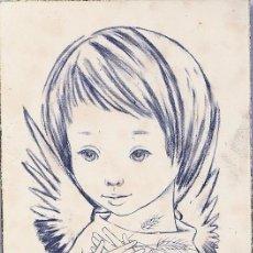 Postales: P111 - SALMONS - RECORDATORIO EDICIONES SABADELL SERIE DAVID 2 - 1963. Lote 54084242