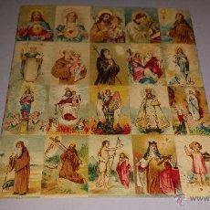 Postcards - LOTE 20 DE ESTAMPAS RELIGIOSAS - 54356321