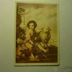 Postales: POSTAL EL DIVINO PASTOR -MURILLO MUSEO PRADO - ESCRITA BB. Lote 54460220