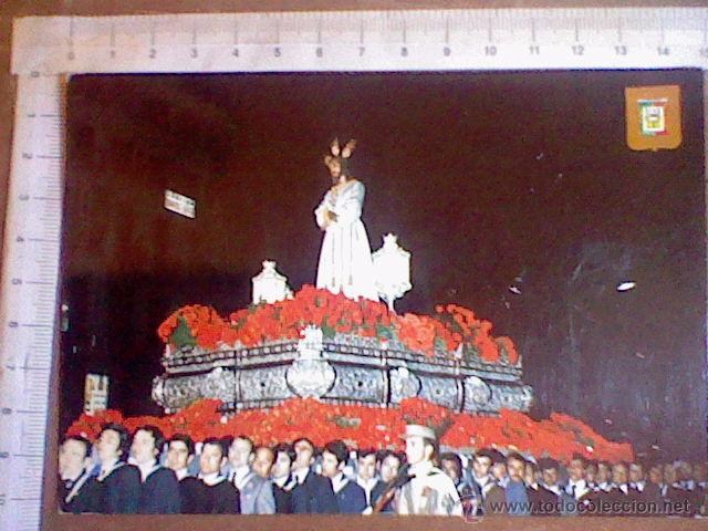 NUESTRO PADRE JESÚS CAUTIVO SEMANA SANTA MALAGA ED DOMINGUEZ Nº 18 S/C (Postales - Postales Temáticas - Religiosas y Recordatorios)