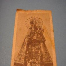 Postales: ESTAMPITA VIRGEN. NOVIEMBRE 1959. PAZ. MADRID. FINISTERRE, S.A. MISA EL DÍA 1. FESTIVIDAD SANTOS. Lote 54731337