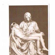 Postales: ESTAMPA RELIGIOSA LA PIEDAD DE MIGUEL ANGEL VATICANO RELIGIÓN. Lote 54993732