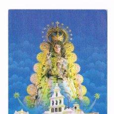Postales: ESTAMPA RELIGIOSA ANTIGUA VIRGEN DEL ROCÍO. Lote 54995766