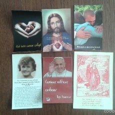 Postales: LOTE DE 6 ESTAMPAS RELIGOSAS. Lote 55107044