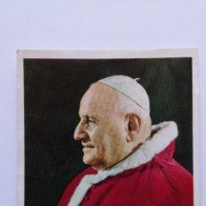 Postales: ESTAMPA DE RECUERDO DE PRIMERA MISA SOLEMNE 1961. Lote 55822288