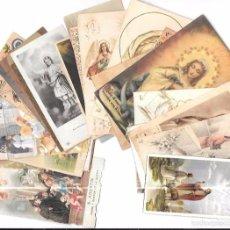 Postales: CONJUNTO DE 25 ESTAMPAS - RECORDATORIO DE 1ª COMUNIÓN. SIGLO XX.. Lote 56097893