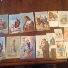 Postales: POSTALES RELIGIOSAS AÑOS 50. Lote 56306078