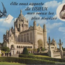 Postales: POSTAL SANTA TERESA LISIEUX. Lote 56388606