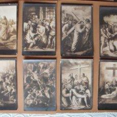 Postales: VIA CRUCIS, XIX -XX. 9 POSTALES. ED. GG Cº. Lote 56463948