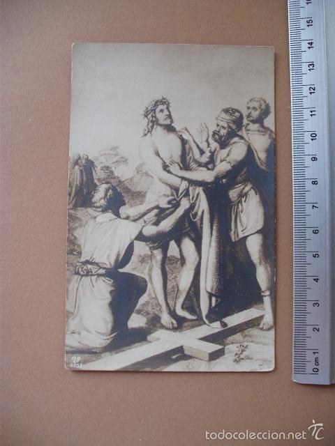 Postales: VIA CRUCIS, XIX -XX. 9 POSTALES ED. GG Cº - Foto 3 - 56464498