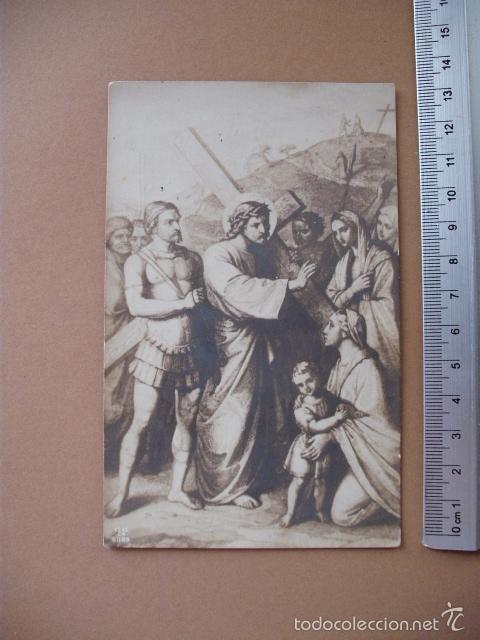 Postales: VIA CRUCIS, XIX -XX. 9 POSTALES ED. GG Cº - Foto 5 - 56464498