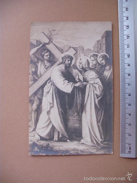 Postales: VIA CRUCIS, XIX -XX. 9 POSTALES ED. GG Cº - Foto 6 - 56464498