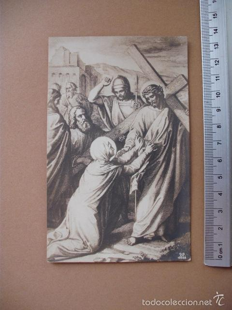 Postales: VIA CRUCIS, XIX -XX. 9 POSTALES ED. GG Cº - Foto 7 - 56464498